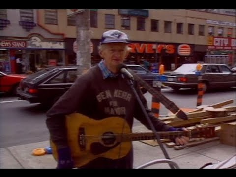 Citytv IDs - Ben Kerr at Yonge and Bloor (1990s)