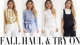 AUTUMN HAUL & TRY ON | Lydia Elise Millen