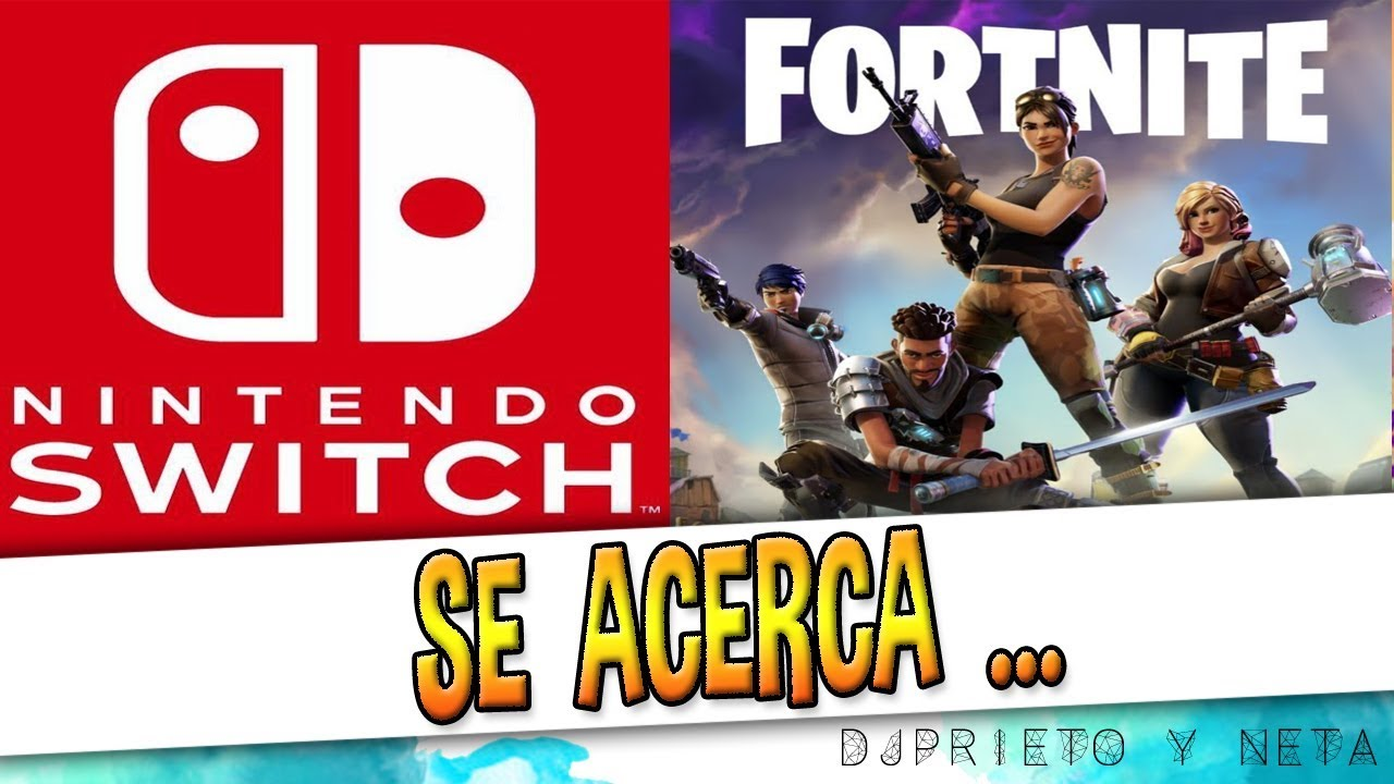 Noticion Lo Dejan Caer Fortnite Para Nintendo Switch Youtube