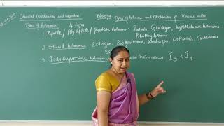 I PUC | Biology | Chemical coordination and integration- 06