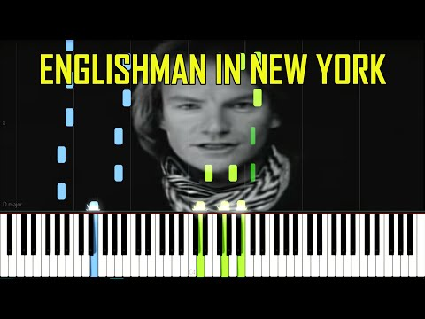 Sting - Englishman In New York [Piano Tutorial]