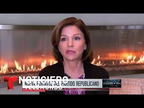 Nueva portavoz hispana del partido republicano | Noticiero | Noticias Telemundo