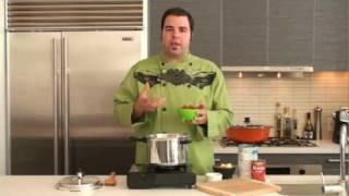 How To Make Chorizo Lentil Stew With A Pressure Cooker & George Duran - Recipe Tutorial