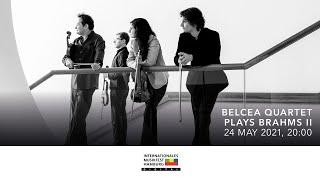 Das Belcea Quartet spielt Brahms II | Internationales Musikfest Hamburg