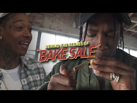 "Behind the Scenes of Wiz Khalifa & Travis Scott's ""BAKE SALE"" Music Video"