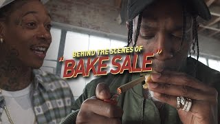 Behind the Scenes of Wiz Khalifa amp Travis Scott39s quotBAKE SALEquot Musica