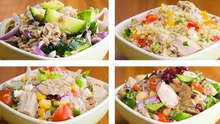 4 Tuna Salad For Weight Loss | Easy Tuna Recipes
