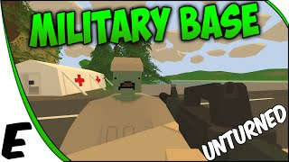 Unturned 3.0 Multiplayer Gameplay ➤ New Server, Military Base Raid, & Invisible Zombies! [Part 3]
