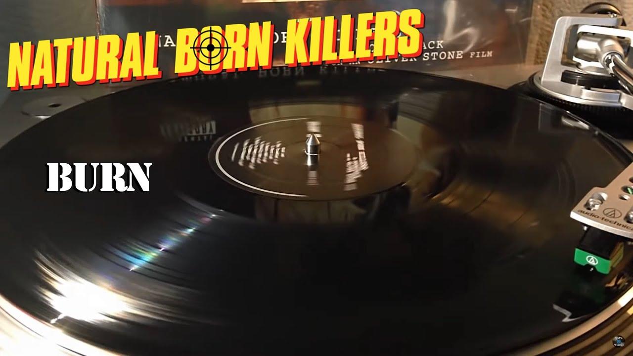 Natural Born Killers (OST) - Nine Inch Nails - Burn - Black Vinyl LP