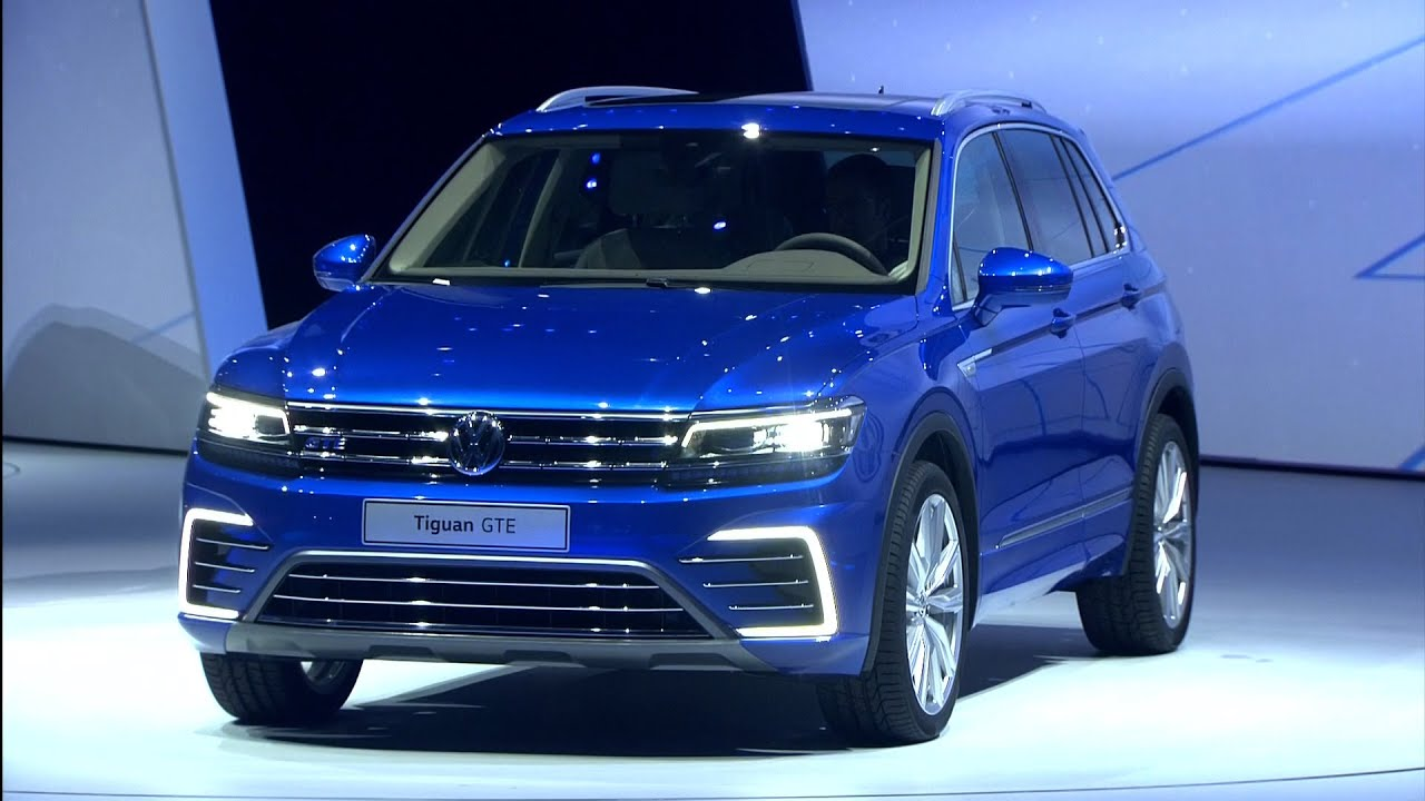 vw tiguan iaa 2015 youtube. Black Bedroom Furniture Sets. Home Design Ideas
