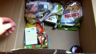 WorldOfSweets.de big parcel Unboxing