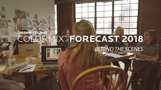 Behind the Scenes of Colormix Forecast 2018 - Sherwin-Williams