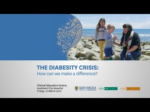 The Diabesity Crisis – how can we make a difference?