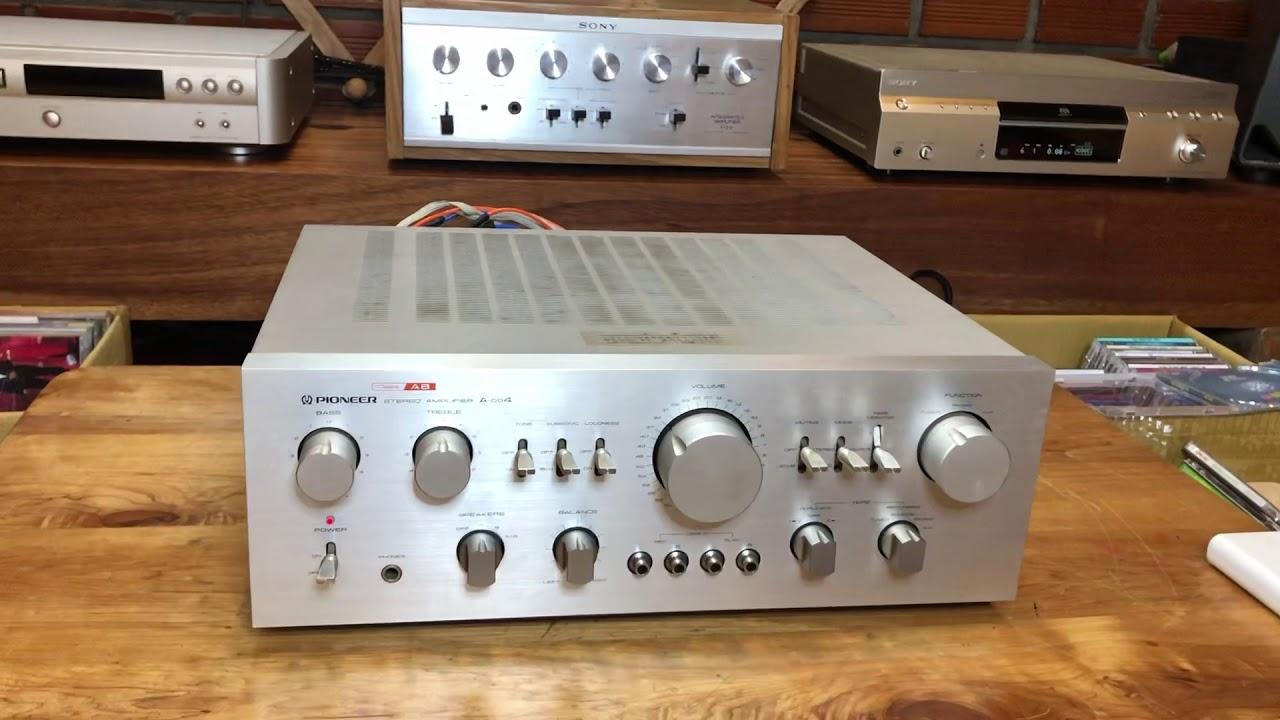 Amply pioneer A-004 hàng mạng nhật đẹp như mới giá :3,5 tr đt:0935661331