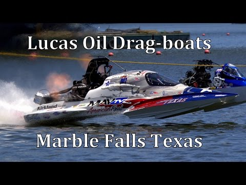 """""""Drag-boats with Raw Sound"""" Marble Falls Texas 2014 35mins"""