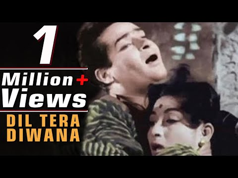 Dil Tera Deewana Hai Sanam, Shammi Kapoor, Lata Mangeshkar, Mohd. Rafi Song in Colour (Duet)
