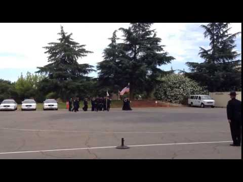 Mountain View Police Department Recruit Leads Drills | use of electric drill
