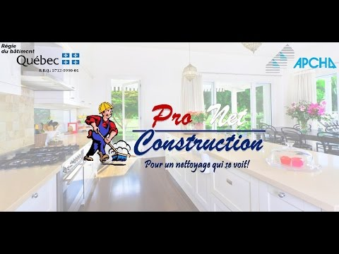 pro net construction nettoyage apres construction renovation