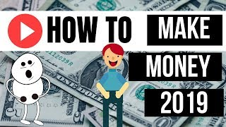 How to make money on youtube 2019 !! real tips