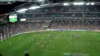 Footy game in Sydney