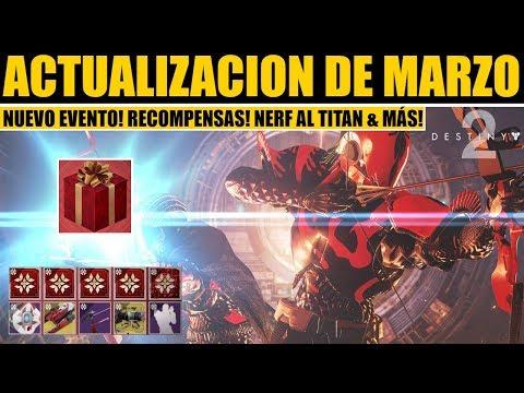 Destiny 2: Update en Marzo! Nerf a Titan! Nuevo Evento! Premio 650! Nuevo Arma! Modo de Juego & más! thumbnail