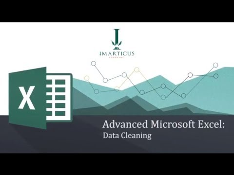 Microsoft Excel Tutorials | Advanced Excel - Data Cleaning