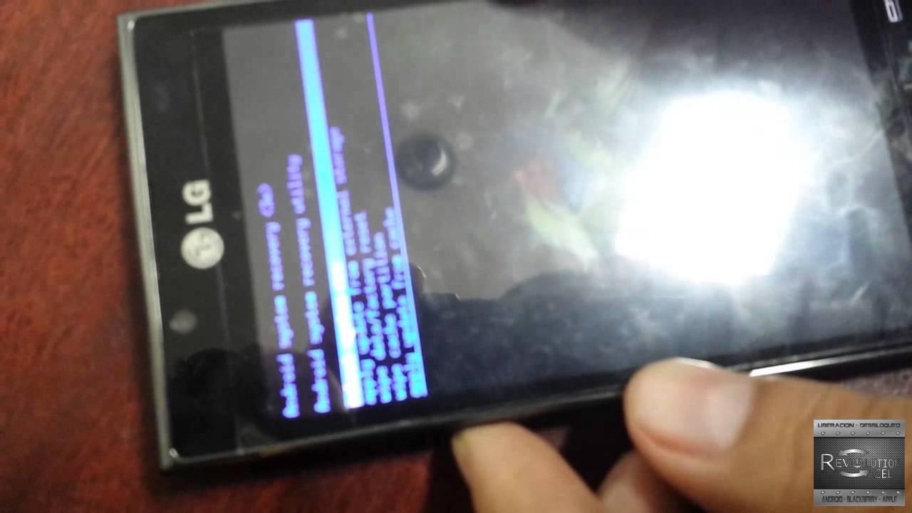 como rastrear un celular lg optimus l7