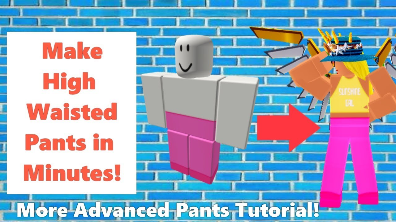 How To Make Pants In Roblox 2020 Part 2 Youtube