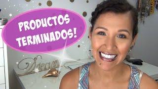 Productos Terminados - Maquillaje & Cuidado de la piel * Empties