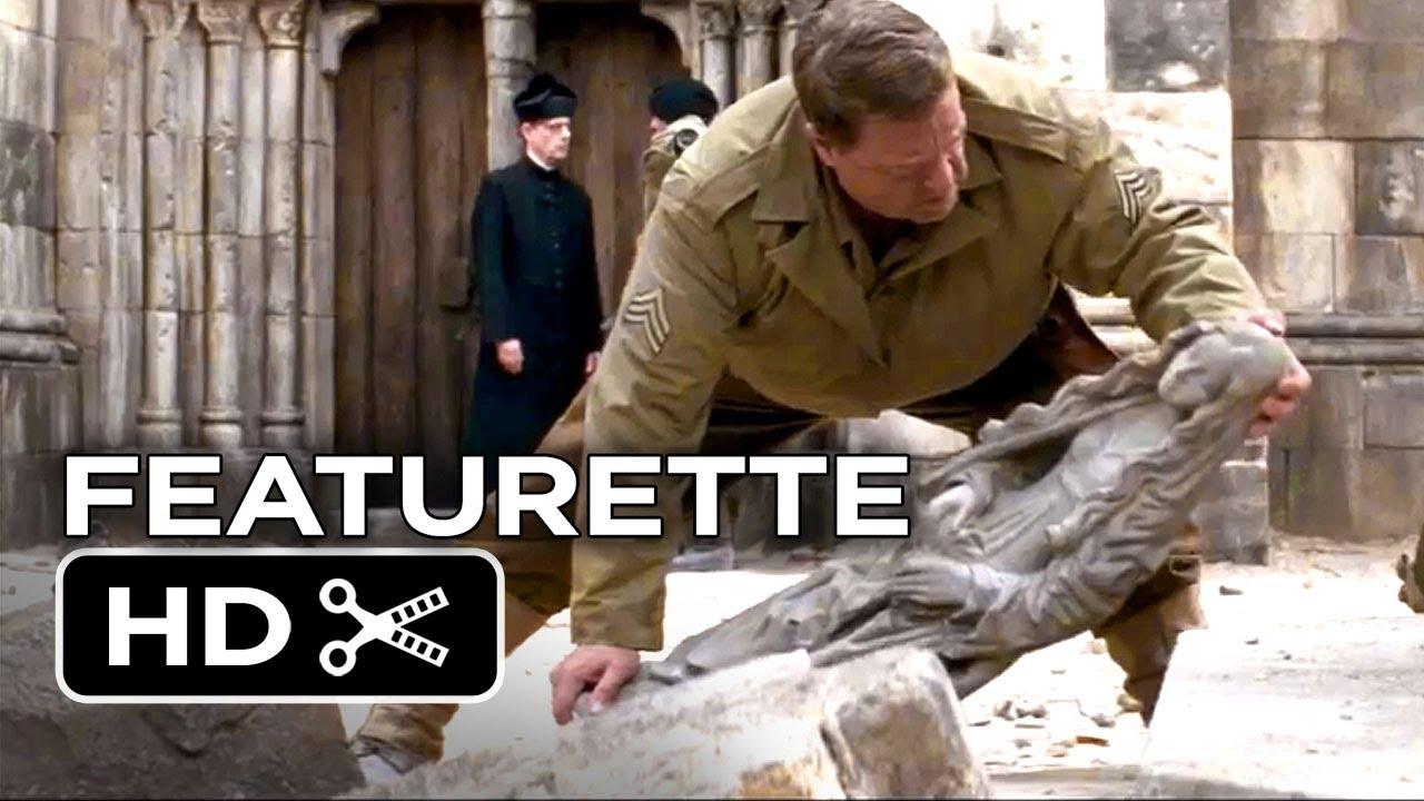 Download The Monuments Men Featurette - The Last Original Monuments (2014) - George Clooney Movie HD