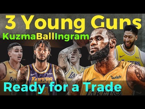 Kuzma, Ingram at Ball - Handa nang Pakawalan ng Lakers Kapalit ng Superstar Partner ni Lebron James