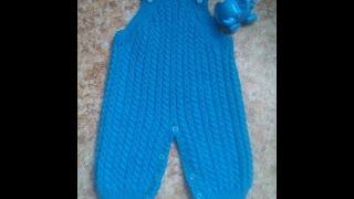 Мастер-класс по вязанию детских штанишек