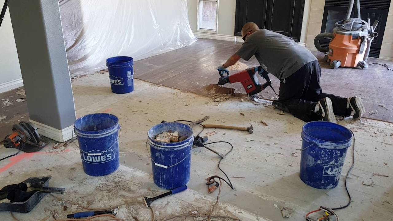 Glue Down Wood Floor Removal You