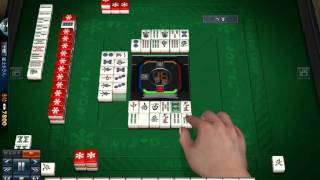 40 minute 3 Player mahjong game.