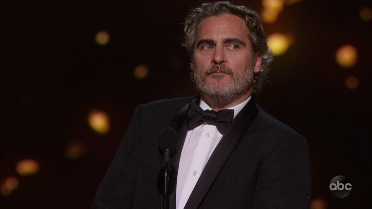 What Joaquin Phoenix got right in his Oscars acceptance speech