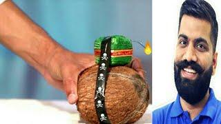 coconut vs sutli BOMB,by technical guru ji