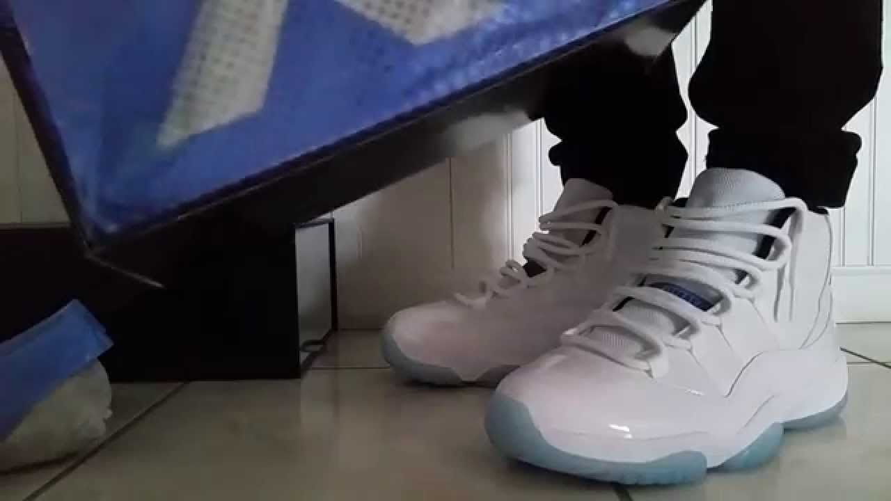 Legend Blue 11 On Feet