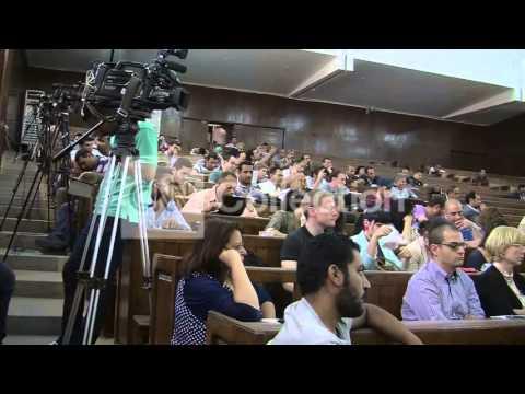EGYPT: CAIRO AL JAZEERA JOURNALISTS ON TRIAL