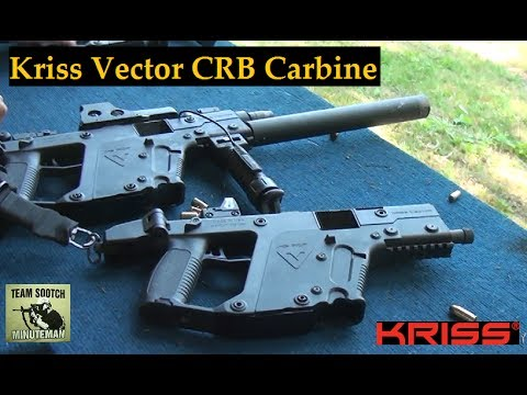 Kriss Vector CRB 45 ACP Carbine Review