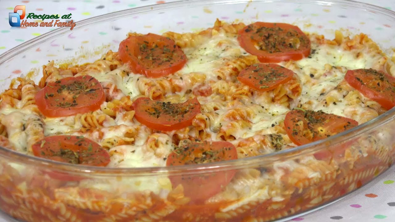 MACARRONES PIZZA in MICROWAVE in LESS THAN 15 MINUTES | FOOD RECIPE in Recipes at Home and Family
