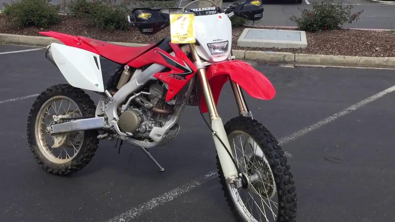 Contra Costa Powersports Used 2008 Honda Crf250x E Start 4 Stroke Dirt Motorcycle Youtube