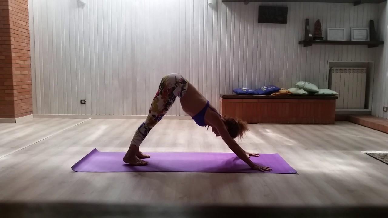 Bharadvajasana to Ardhva Matsyendrasana intermediate series of Ashtanga  Vinyasa Yoga