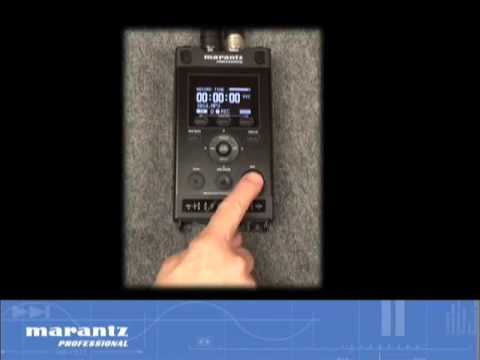 marantz pmd661 portable digital audio recorder overview youtube. Black Bedroom Furniture Sets. Home Design Ideas