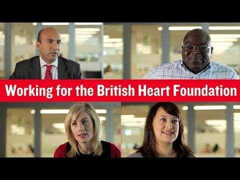 British Heart Foundation - Working for us