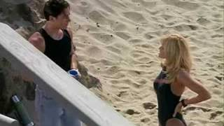 Baywatch - J.D. first meets Dona(funny)