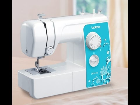 How To Wind And Load Bobbin In Sewing Machine Brother JS40 Gorgeous How To Load A Bobbin In A Brother Sewing Machine