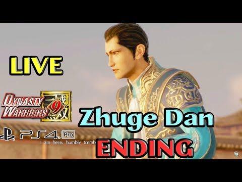Dynasty Warriors 9/ 真・三國無双8 PS4 PRO LIVESTREAM - Zhuge Dan Full Story Speedrun