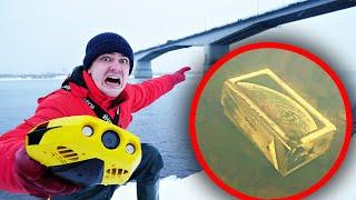 Погрузили подводный дрон на дно и нашли айфон и другие жуткие находки