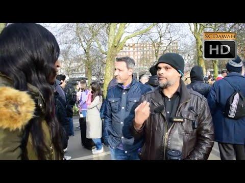 P1 - Seeking Anwers ? Hashim vs Visitors l Speakers Corner l Hyde Park