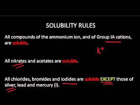 Example Of Formula Unit And Net Ionic Equation Youtube